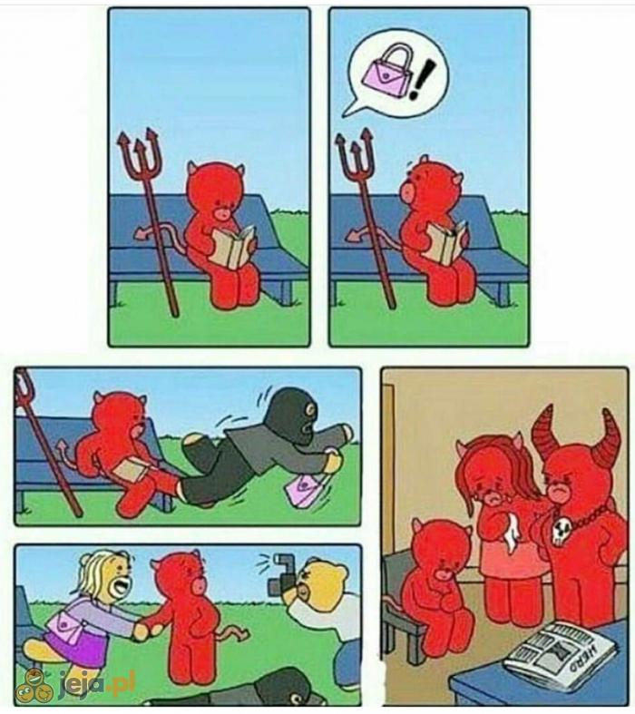(Nie)dobry diabełek