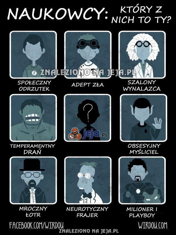 A Ty, którym naukowcem jesteś?