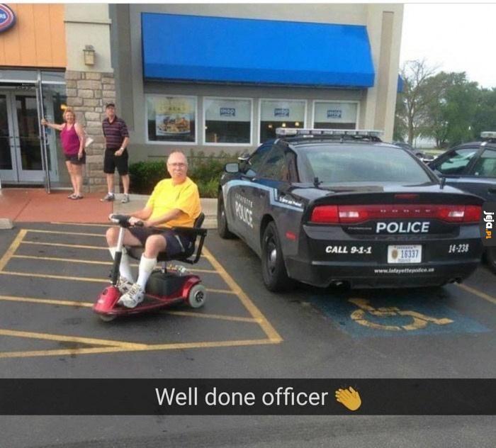 Policja ponad prawem