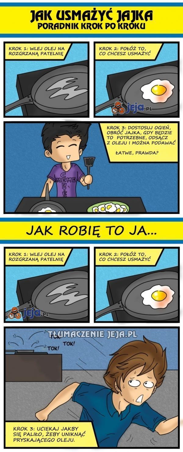 Jak smażyć jajka?