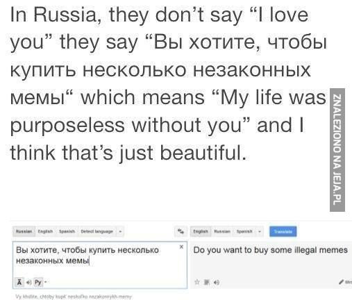 Miłość po rusku