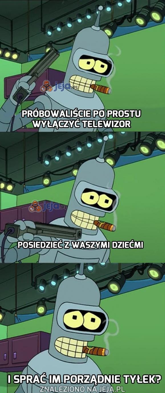 Bender wie jak wychowywać dzieci