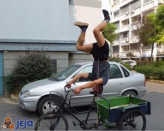 Najnowszy styl jazdy na rowerze