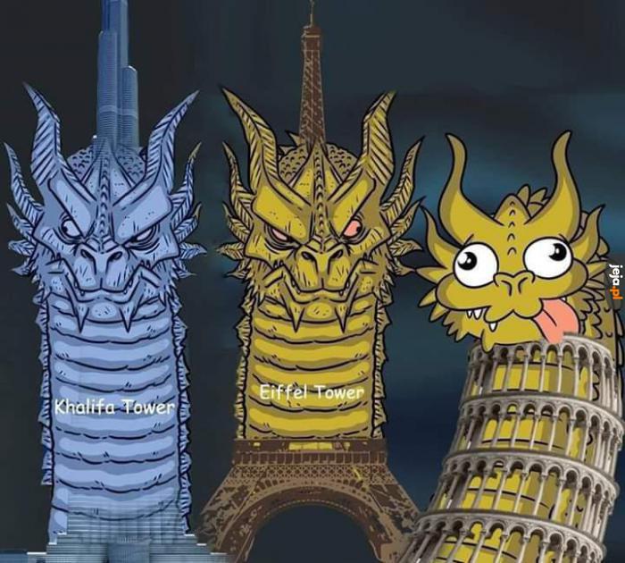 Najsłynniejsze wieże świata