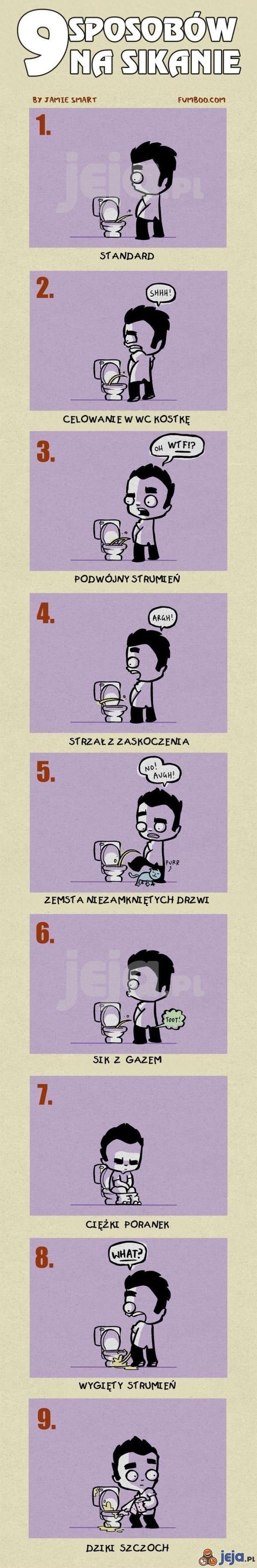 Sposoby na sikanie
