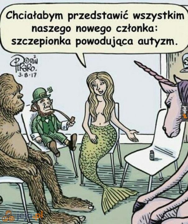 Spotkanie klubu mitologicznych stworzeń