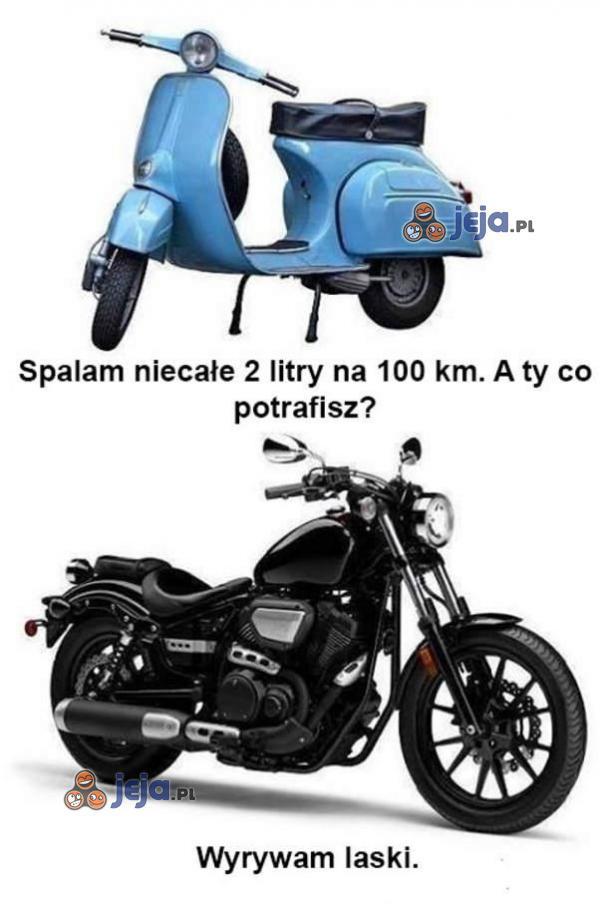Skuter vs motor