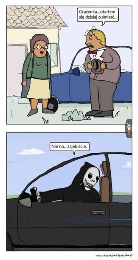Spotkanie ze śmiercią