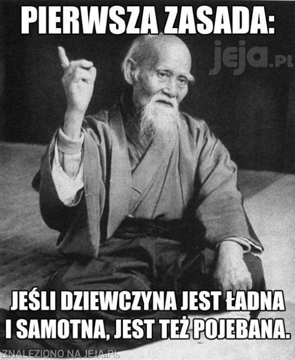 Pierwsza zasada!