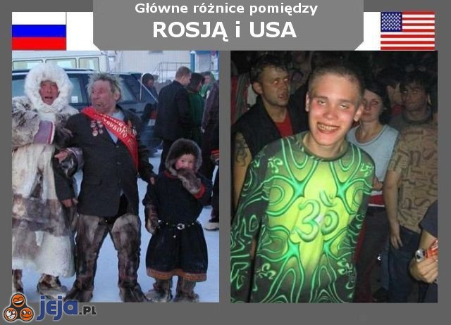 Rosja vs USA - Zabawa
