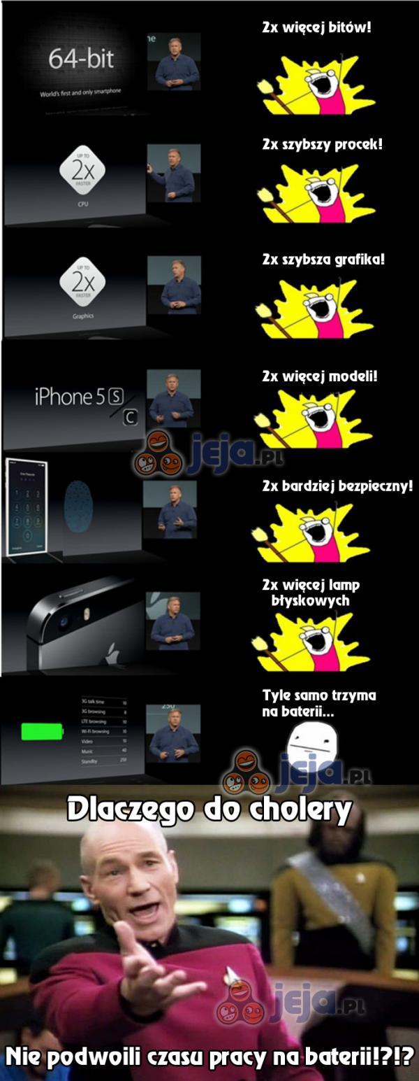 Nowe iPhone'y - prawie 2x lepsze