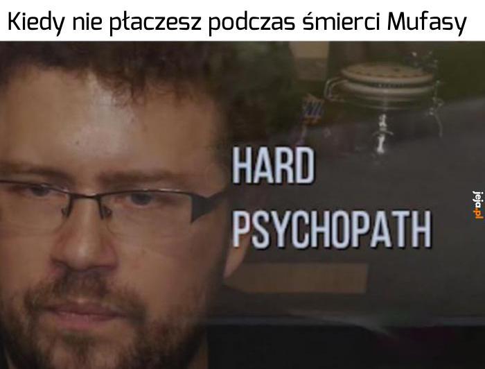 Prawdziwy psychopata