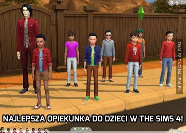 Najlepsza opiekunka do dzieci w The Sims 4