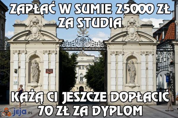 Studia w Polsce
