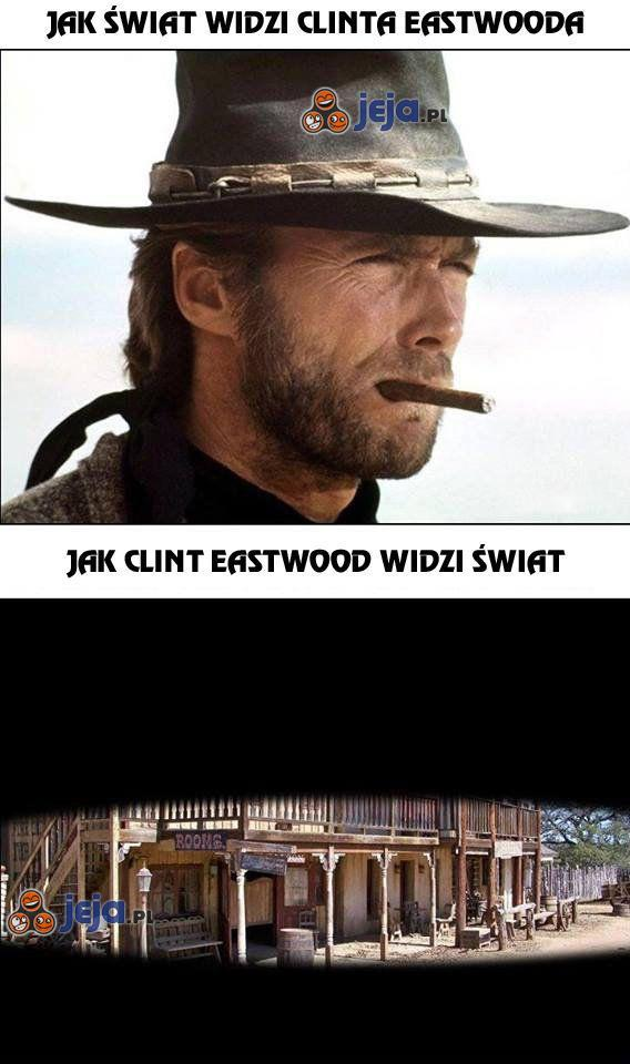 Świat i Clint Eastwood