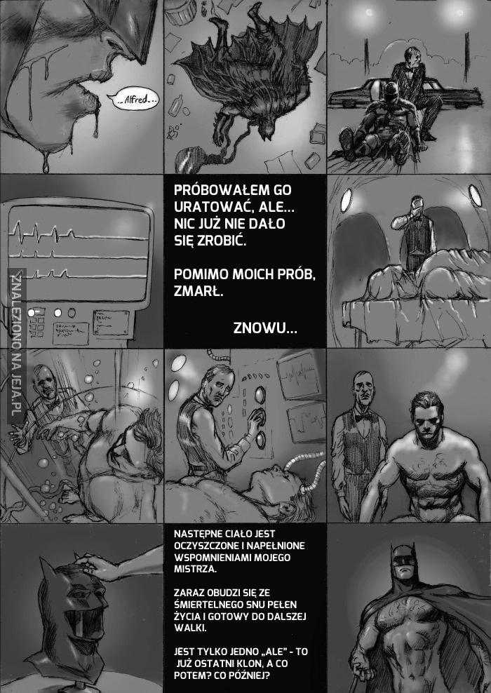 Już wiemy, czemu Batman nigdy nie umiera