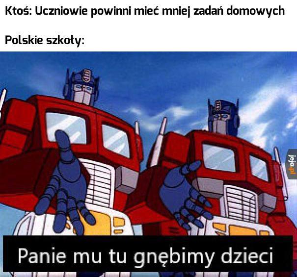 Typowa polska szkoła