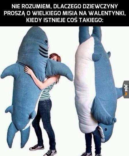 Pluszowy rekin
