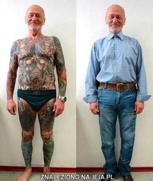 Teraz już wiesz jak wyglądają tatuaże na starość