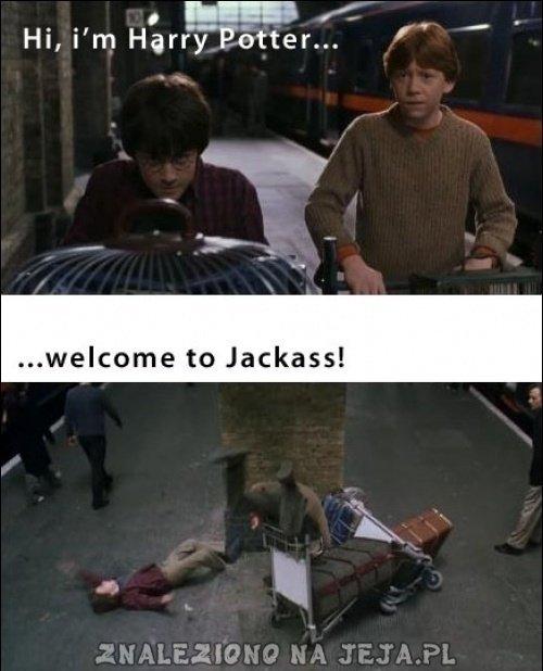 Cześć, nazywam się Harry