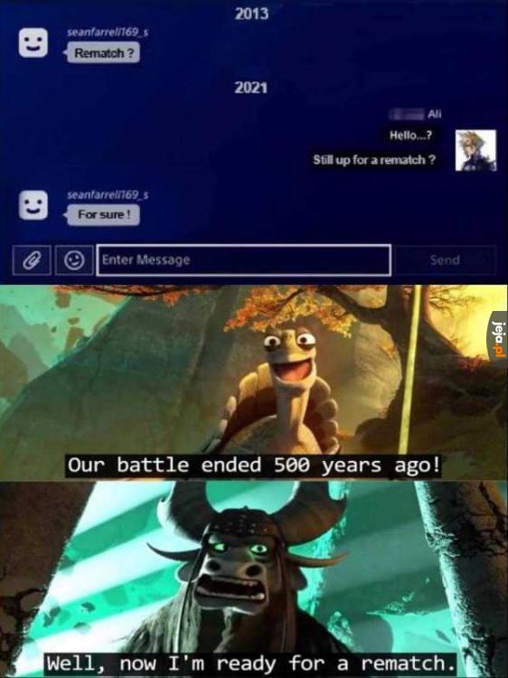 Długo na to czekał