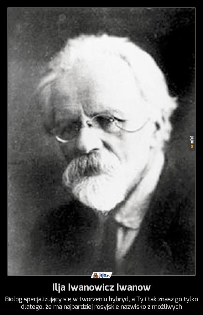 Ilja Iwanowicz Iwanow
