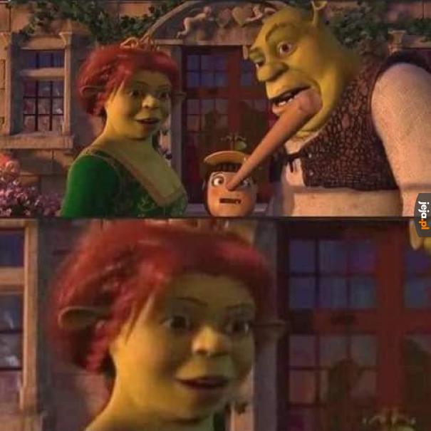Fiona, ty masz męża