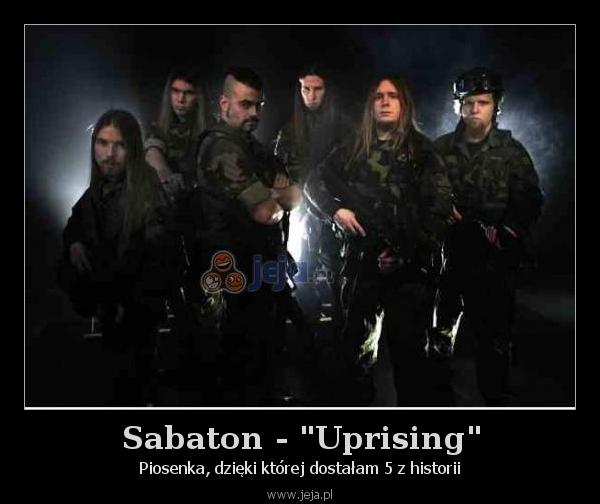 """Sabaton - """"Uprising"""""""