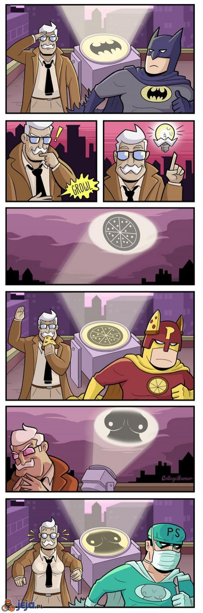 Potrzebna pomoc superbohatera