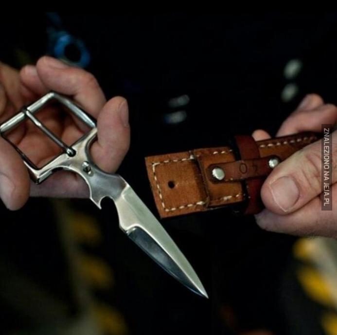 Pasek z nożykiem