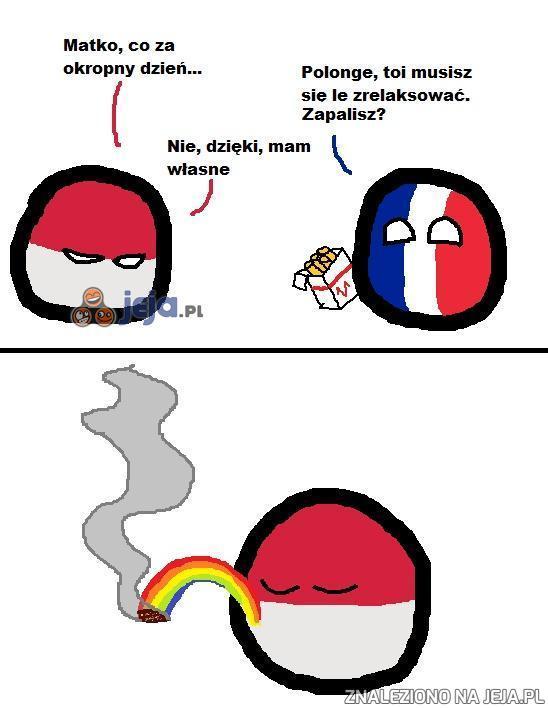 Lubię palić tęczę