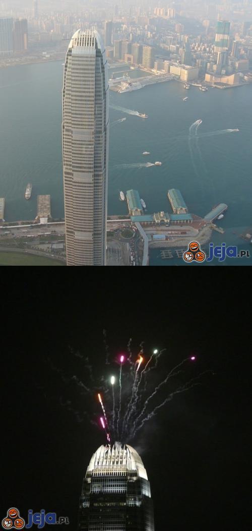 Drugi najwyższy budynek w Hong-Kongu