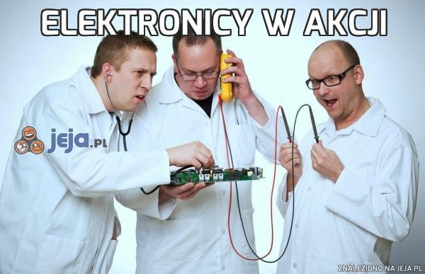 Elektronicy w akcji
