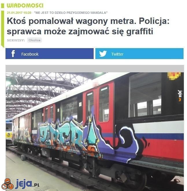 Policja już na tropie