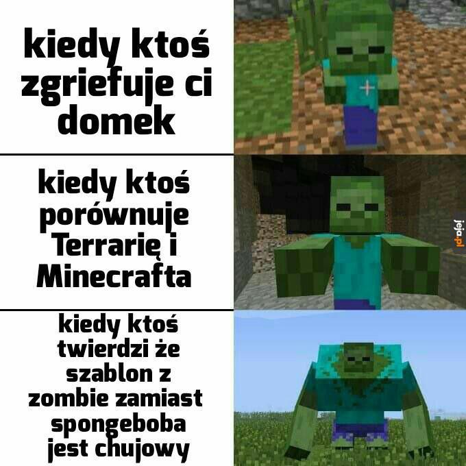 Minecraft w pigułce