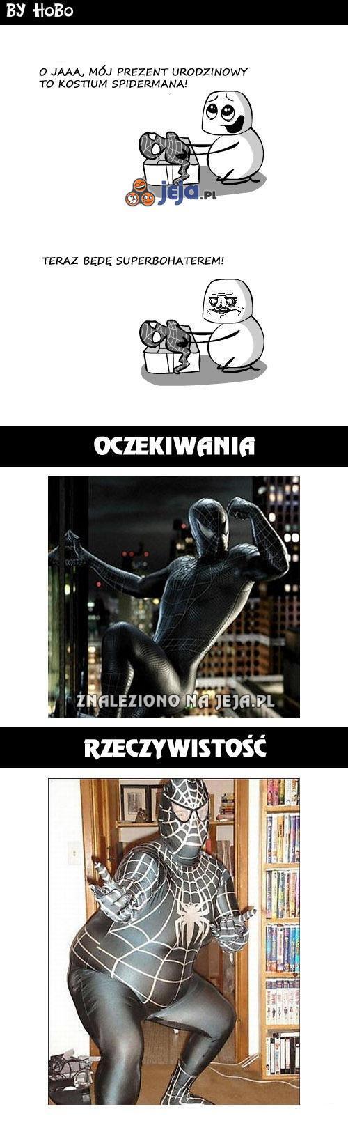 Spiderman? Nie sądzę