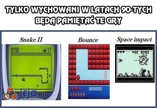 Tylko wychowani w latach 90-tych będą pamiętać te gry