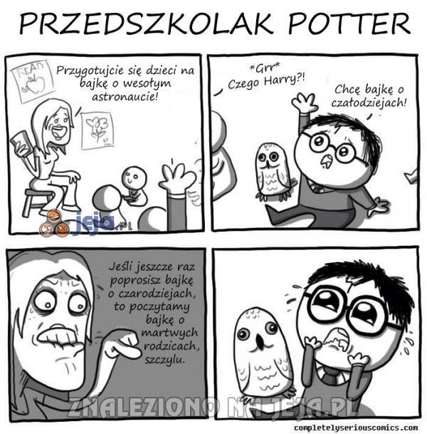 Przedszkolak Potter