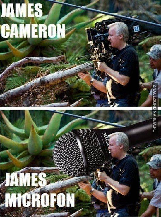 James się przerzucił