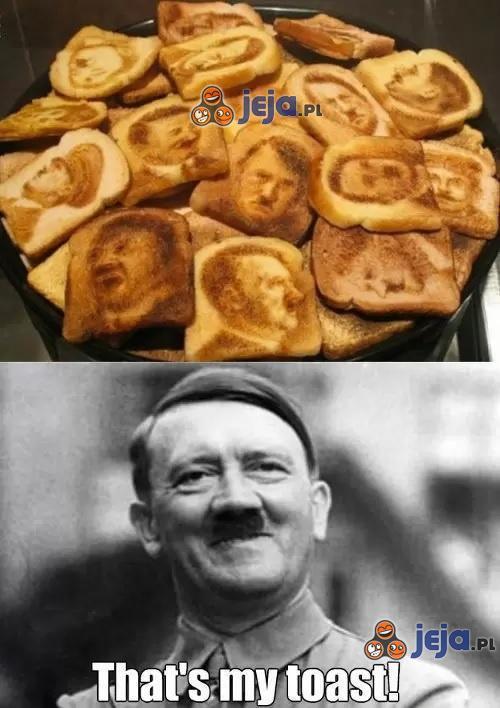 To moje tosty!