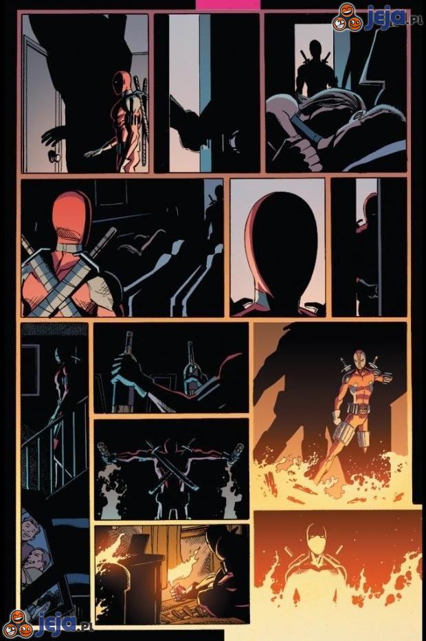 Pamiętacie jak Deadpool spalił żywcem swoich rodziców?