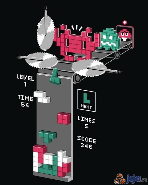 Jak powstają klocki do tetrisa