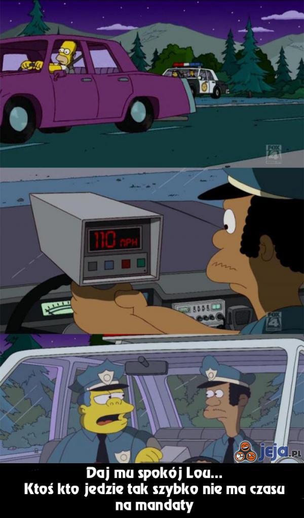 Policjanci w Springfield