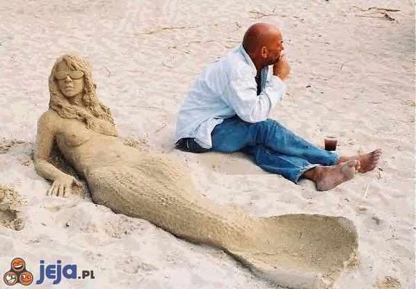 Syrena z piasku