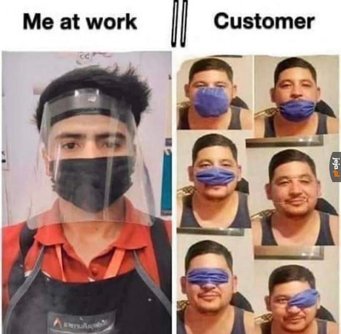 Sprzedawcy vs klienci