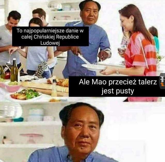 Chińska kuchnia jest dobra