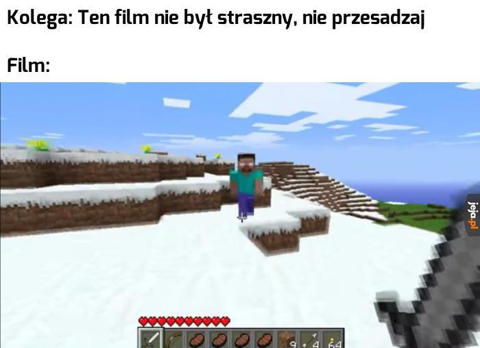 Największy koszmar gracza Minecrafta