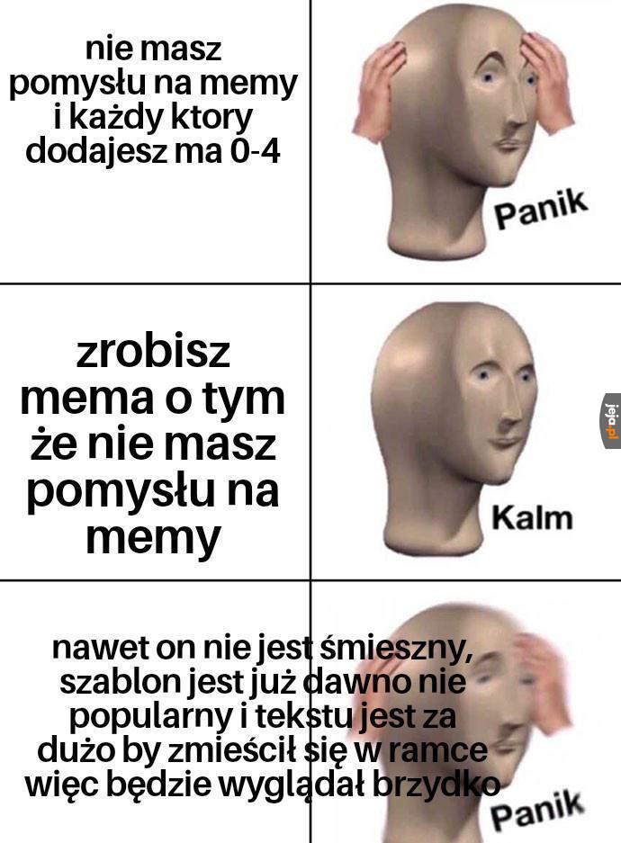 Nie umiem robić memów