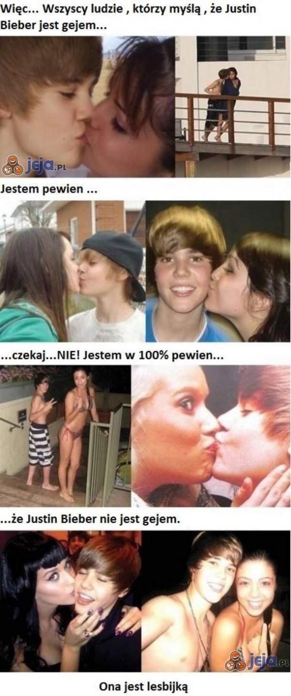Dowód na to, że on nie jest gejem!