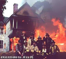 Zdjęcie strażaków